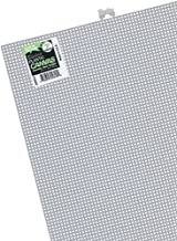 Darice Plastic Canvas 7 Count 10 inch x 13 inch White 33900-2 (12-Pack)