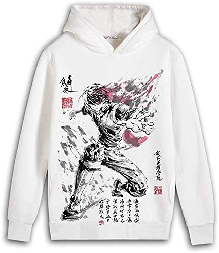 Boku No Hero Academia Sudadera con capucha con impresión 3D de anime Exposición Cosplay Costume...