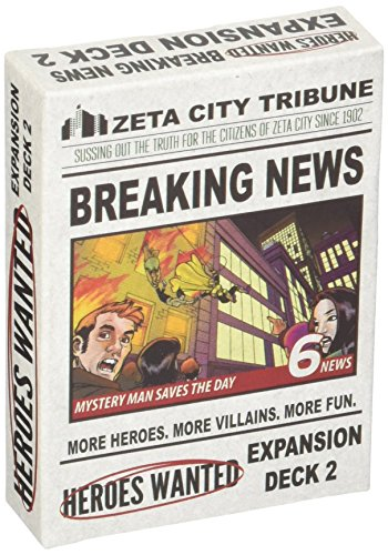 Action Phase Games Heroes Wanted: Breaking News Expansion