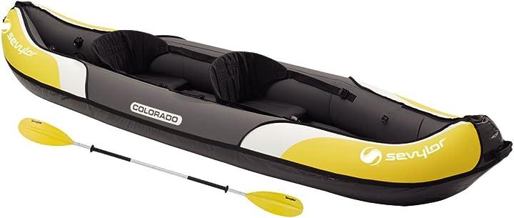 Kayak - sevylor colorado kit - pagaia e pompa - (2 posti) colore 81 unica 2000016743