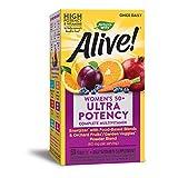 Nature'S Way Alive Once Daily 50 Plus Multi-Vitamina 60 Tabletas 120 g