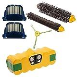 Batteria Hannets/® iRobot 620 di alta qualit/à I i-Robot Roomba Batteria di Ricambio Aspirapolvere Robot I Roomba 620 Accessori Batteria 3500 mAh Robot Aspirapolvere Batteria Ricambio 14,4 V