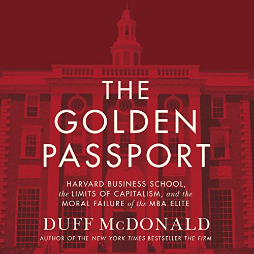 The Golden Passport audiobook cover art
