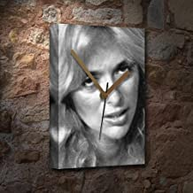 Seasons Sybil DANNING - Canvas Clock (A4 - Signed by The Artist) #js005