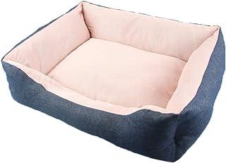 Panjianlin Cama del Animal doméstico Puppy Kennel Teddy Bomei Nest Pet Kennel Seda de Hielo Kennel Cat Litter Espacio Acog...