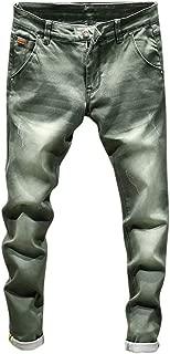 Fashion Jeans Pants,Men's Casual Autumn Denim Cotton Vintage Wash Hip Hop Work Trousers Jeans Pants
