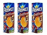 LU - Galletas de chocolate Prince - 3 paquetes - 300g por paquete - Galletas con sabor a chispas de...