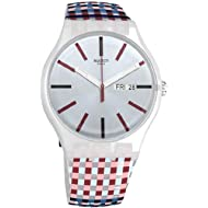 Swatch Merenda Quartz Movement Blue Dial Unisex Watch SUOW709