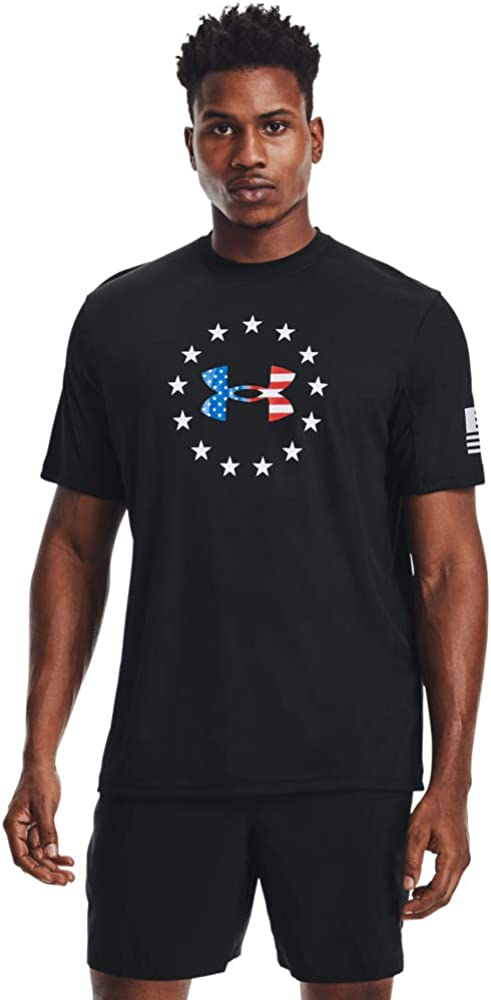 Under Armour Outlet ☆ Free Shipping Men's Freedom Short-Sleeve Iso-chill T-Shirt Selling
