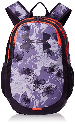 Under Armour Adult Scrimmage Backpack 2.0 , Purple Crest (536)/Nocturne Purple , One Size Fits All