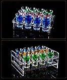 QMU Schnapsglas Kleine Glasschale Schnaps und Spirituosen Glas Schnapsgläser für Wodka Wein Bier Cocktail Hochzeitsglas
