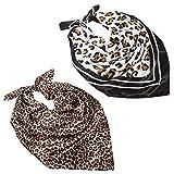 Chalier 2 Pcs Silk Head Scarf for Women...