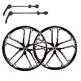ZUKKA Bike Wheel Set,26 Inch Magnesium Alloy...