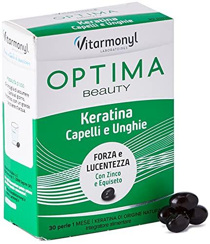 Vitarmonyl Optima Beauty Keratina Capelli e Unghie, 24.75g