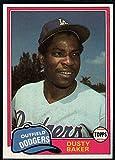 1981 Topps Baseball #495 Dusty Baker Los...