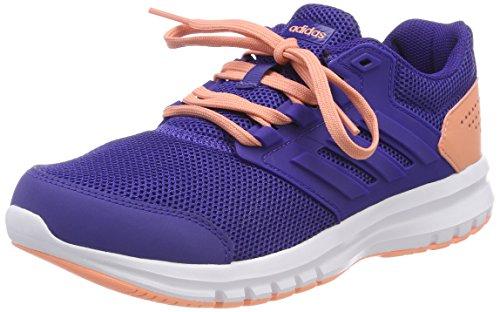 Adidas Galaxy 4 K, Zapatillas de Trail Running Unisex Niños, Morado (Purrea/Cortiz/Ftwbla 000), 28 EU