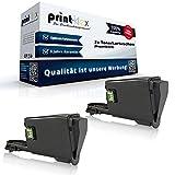 2 cartuchos de tóner compatibles para Kyocera FS 1041 1220 MFP 1320 MFP 1T02M50NL0 TK1115 TK-1115 TK 1115 negro – Serie Office Print