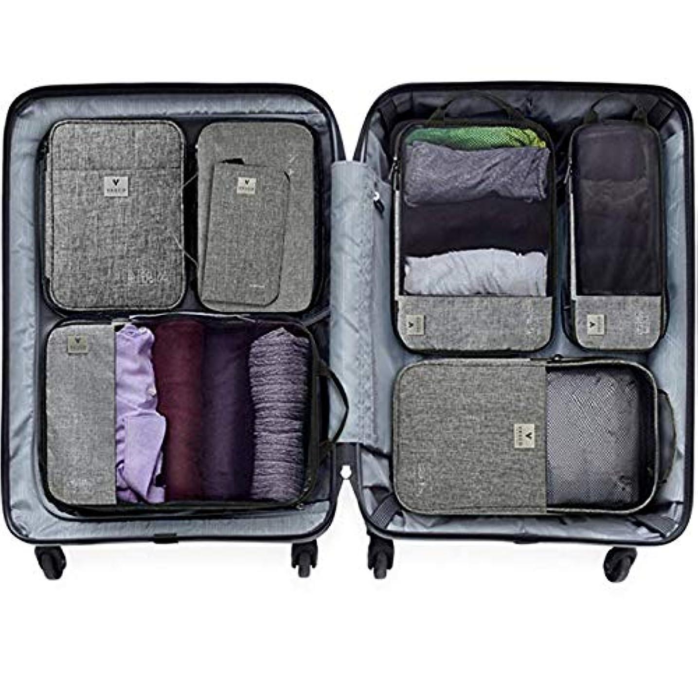 シロクマ溶接迷信スーツケースのスペースを60% 節約! 探す時間も削減!スマートパッキングキューブバッグ「VASCO」ヴァスコ