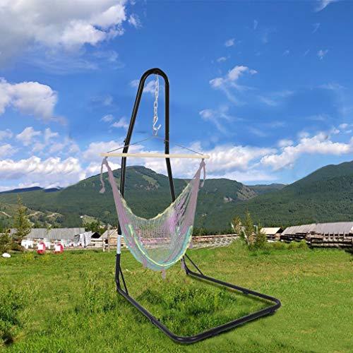 USLuxury Adjustable Hammocks Chair Frame-Adjustable 76.7 to 93 Inches high Chair Frame
