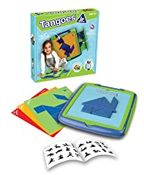 Tangoes Jr. Tangram with Portable Carry-Case
