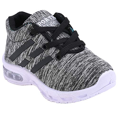 Girls Clubs Unisex- Child Black Sports Shoes - 3- 3.5 Years