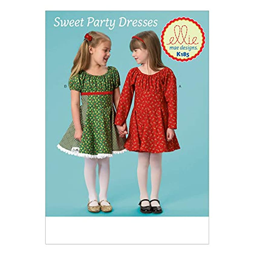 KWIK-SEW PATTERNS K0185 Girls' Dresses