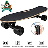 Small Electric Skateboard with Remote for Beginners Kids