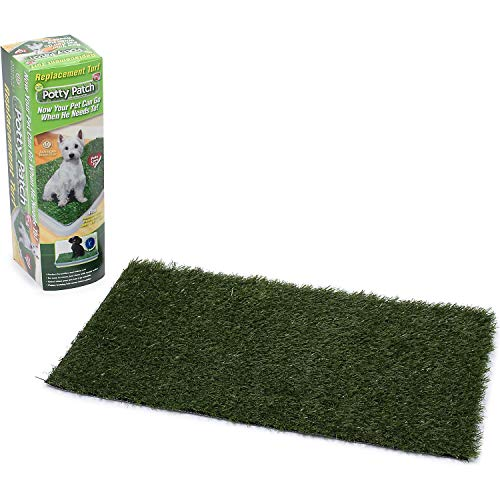 Potty Patch Small Replacement Turf (pets under 15lbs) - Indoor dog litter box, puppy pad, pet training pad