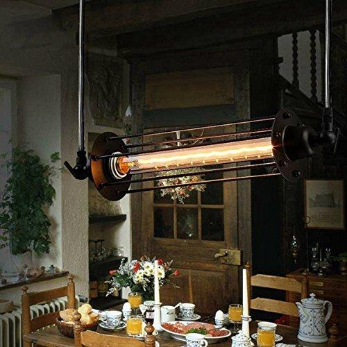 BASDW Industriale Retro Vintage Flute Lampada a sospensione Kitchen Bar Hanging Plafoniera BASDW