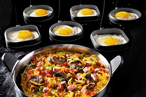 Blackstone 5515 Egg Omelet Ring Kit, Black