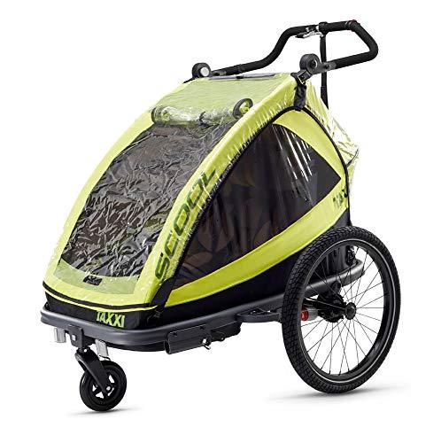 TAXXI - Cubierta impermeable para remolque de bicicleta para