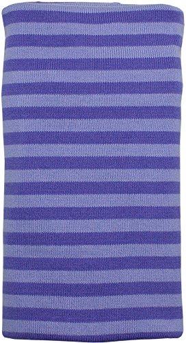 Imse Vimse Organic Swaddling Blanket Purple Stripes