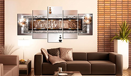 "murando Canvas Wall Art 200x100 cm/ 78.8""x 39.4"" Non-woven Canvas Prints Image Framed Artwork Painting Picture Photo Home Decoration 5 pieces abstract 020101-216 steampunk buy now online"