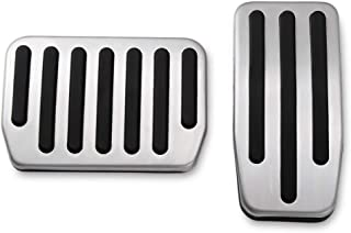 DEDC Gas & Brake Foot Pedal Pads Covers, Non-Slip Performance Pedal Pads Aluminum Pedal Covers for Tesla Model 3, Set of 2