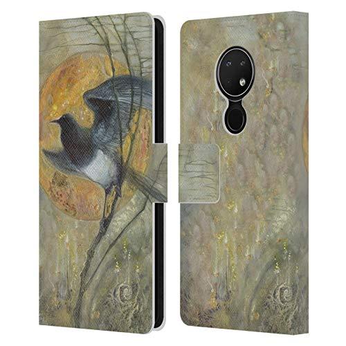 Officiële Stephanie Law Ekster Vreemde dromen Lederen Book Portemonnee Cover Compatibel voor Nokia 6.2
