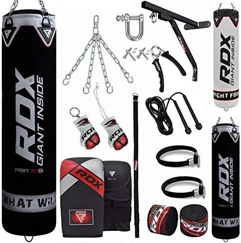 RDX Saco de Boxeo Relleno MMA Muay Thai Kick...