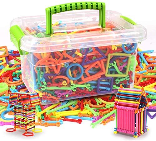 Enfant Puzzle DIY Bâton de Construction Jeux de Mosaïque...