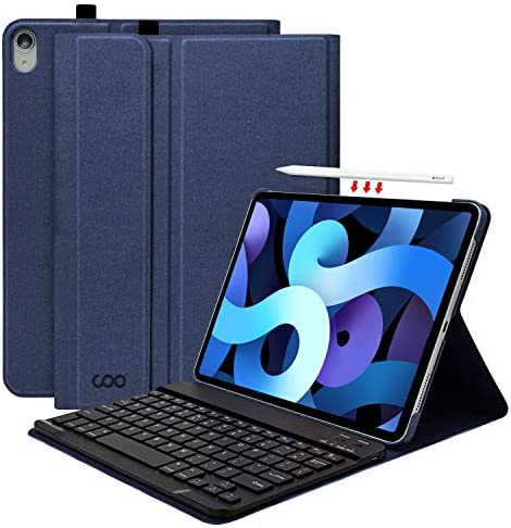 Keyboard Case for New iPad Air 10 9 4th Generation 2020 Detachable Keyboard with Leather Folio product image