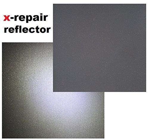 repair patch selbstklebender Reparatur Aufkleber Reflektor Reflektoren Nylon Flicken für Zelte, Rucksack, Markisen, Schlauchboot, Luftmatratze (jeweils 2 Stück) reflektierender Aufkleber (140 mm x 140 mm (jeweils 2 Stück))