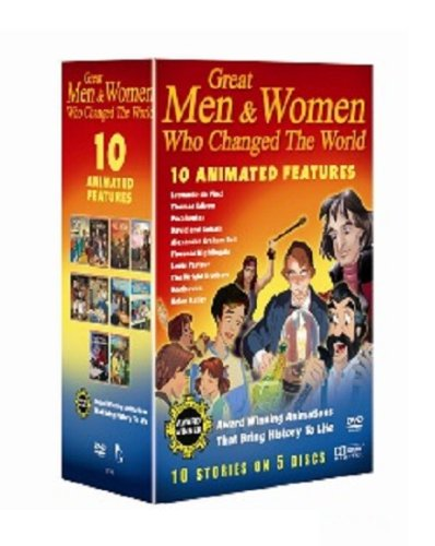 10 Pack: Great men and women who changed the world (including Thomas Edison, Pocahontas, David & Goliath, Alexander Graham Bell, Florence Nightingale, & five more) [Edizione: Regno Unito]
