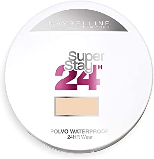 Maybelline New York - Superstay 24H, Polvos Compactos de Larga Duración, Tono 21 Nude