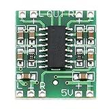 2 canaux 3W Alimentation numérique PAM8403 Module audio de classe D Carte d'amplificateur USB CC Mini carte d'amplificateur numérique de classe D (LCD) (vert) FRjasnyfall