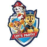 Paw Patrol Printed Invitations - 8pc