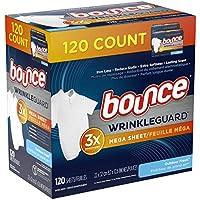 120-Count Bounce WrinkleGuard Mega Dryer Sheets