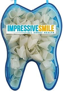 Mixed Sizes Dental Temporary Crown Kit Anteriors Box/50