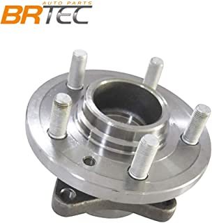 BRTEC 515067 Front Left or Right Wheel Hub & Bearing for Land Rover 2005 2006 2007 2008 2009 LR3 2010 2011 2012 LR4 2006-12 RANGE ROVER SPORT