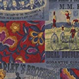 Der Zirkus, Baumwolle, Rot, Fat-Quarter - 55 x 50 cm