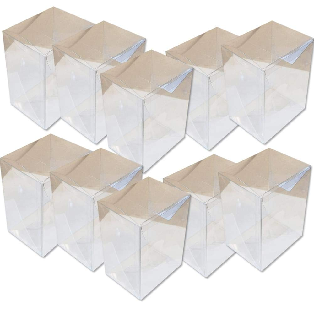 Funko Pop Acid-Free Plastic Protector Case Lot of 10 by FunKo: Amazon.es: Juguetes y juegos