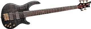Dean Edge Pro5 5-String Bass Guitar Transparent Black