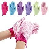Best Exfoliating Gloves - 12 Pcs Exfoliating Shower Bath Gloves for Shower,Spa,Massage Review